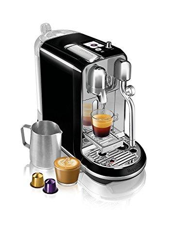 Brand New - Breville BNE600SLQUSC Nespresso Creatista Espresso and Coffeemaker - Black Color by Breville_BNE600SLQUSC (Image #4)