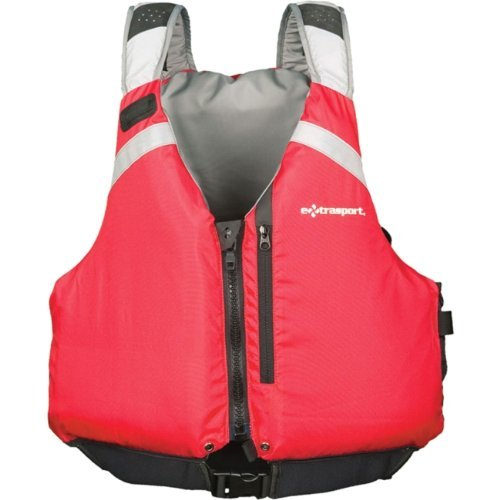 Extrasport Sturgeon Canoe/Kayak Rafting Fishing Personal Flotation Device/Life Jacket, Olive/Black, X-Small
