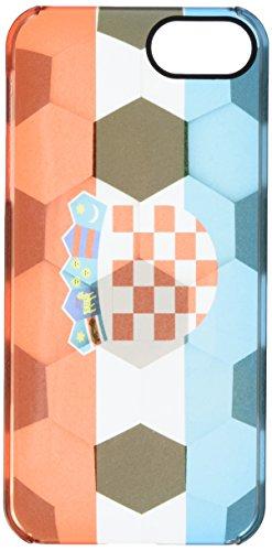 Uncommon - C0088-WW - Apple iPhone 5/5S Kroatien Deflector Hülle mit Fußball-Textur