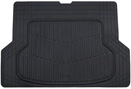 August Auto All Weather Universal Fit Rubber Car Cargo Mats 1pc Fit for Sedans, SUVs, Trucks, Vans