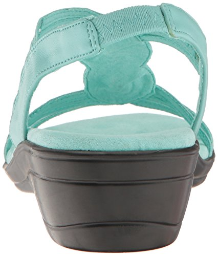 Easy Street Vrouwen Natara Flat Sandaal Turquoise