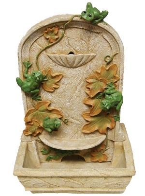 Frog Water Fountain by MYHOUSEOFGIFTS