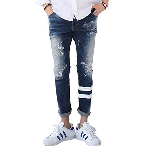 Mokewen-Mens-Stripe-Broken-Destroyed-Damaged-Jeans
