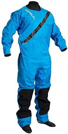 GUL 2018 Dartmouth Eclip Zip Drysuit Blue GM0378-B5 with Free Undersuit