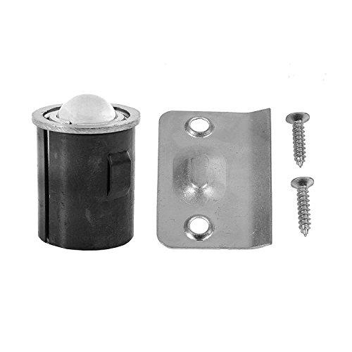 - Ultra Hardware 61761 Drive in Bullet Ball Catch, Satin Nickel
