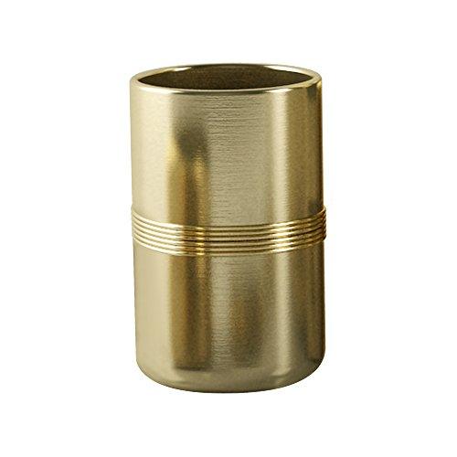 nu steel Jewel Tumbler, Striped, Gold by nu steel