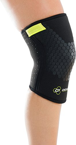 (DonJoy Performance Anaform Power Knee Compression Sleeve Support (Pair) - WOD, Power lifting, Squats, Weightlifting, CrossFit, Functional Fitness, HIIT Workouts for Men and Women, Unisex)
