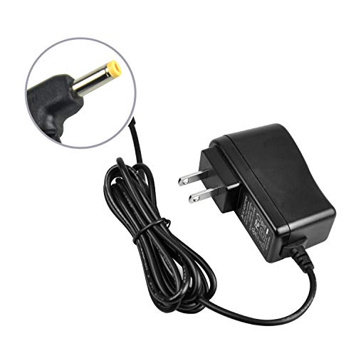 Wall Charger for Portable DVD Player, Replacement Power Supply Cord AC-DC Mains Adapter Compatible with 3.5MM DC Charging Port [UL Listed] ()