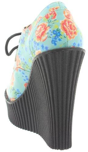 Scarpe Col Donna Multicolore u multicolore Tacco k T Verde Rxtvwgt