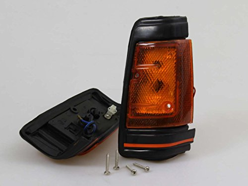 FRONT SIDE SIGNAL LIGHT LAMPS PAIR LH RH NEW FOR NISSAN DATSUN 720 UTE 1980-1989