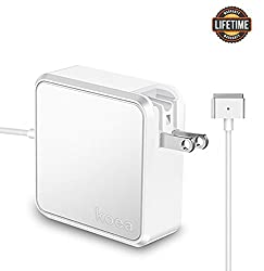 Macbook Air Charger,Replacement 45W Magsafe 2 Power Adapter T-Tip Magnetic Connector Charger for MacBook Air 11 inch and 13 inch