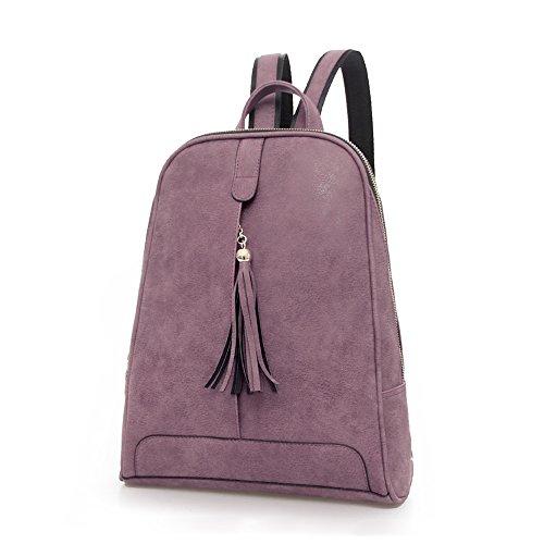 JINHUAOKDIMP&EXPCO.LTD - Bolso mochila  para mujer Warm Bean Red