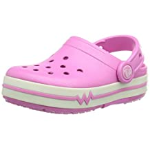 Crocs Crocslights Kids Clog - Party Pink/White - Size J3