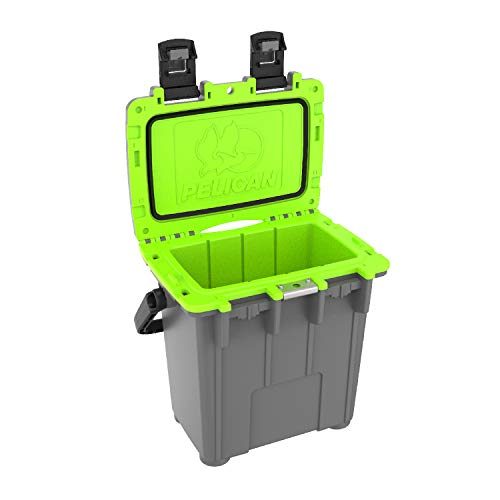 (Pelican Elite 20 Quart Cooler (Dark Grey/Green))