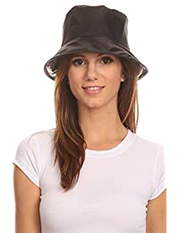 LL Unisex Twist to Pack Rain Bucket Hat Water Resistant Lightweight Many Colors