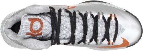 Nike Herren KD V Basketballschuh Metallisches Silber / Desert Orange / Sport Grau / Schwarz