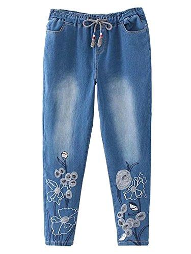 Vaqueros mujer JeansForest azul claro para dnPwdz0Uq