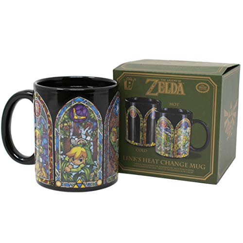 Paladone Legend of Zelda Heat Changing Ceramic Coffee Mug