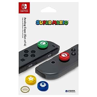 Amazon.com: HORI Nintendo Switch Super Mario Analog Caps