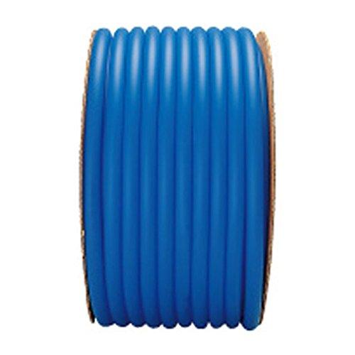 【50m×4個】 ラバーデラックス ホース ブルー 内径 15mm ×外径 22mm 中ビ カ施 代不 B0776TQ23D