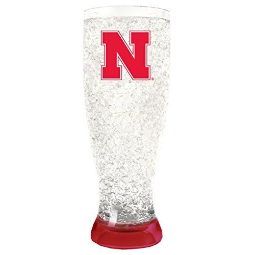 NCAA Nebraska Cornhuskers 16oz Crystal Freezer Pilsner