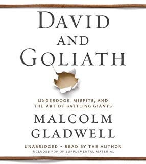 David and Goliath (1478952725) | Amazon Products