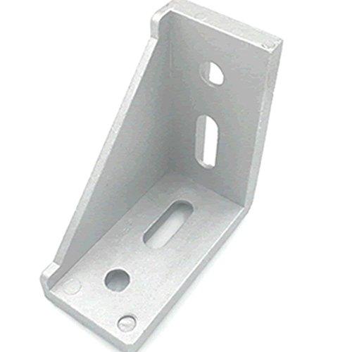 6pcs 3060 Inside Corner Bracket Gusset for 3030 or 3060 Series Aluminum Extrusion Profile with Slot (Inside Corner Bracket)