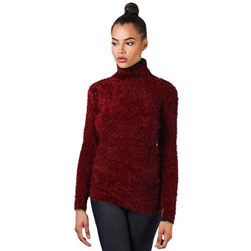 Unique Femme Bordeaux SSoul Taille Shirt Sweat I4qEx86T
