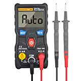 KASUNTEST Ture-RMS Digital Multimeter 4000 Counts AC/DC Voltage Current Ohm NCV Function with Backlight and Flashlight