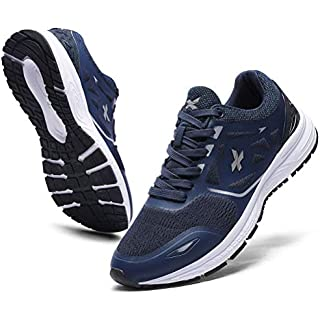 XIDISO Running Shoes Mens Women Air Trail Mesh Sneakers Athletic Walking Cross Training Tennis Sports Shoe for Men Men's Trail Running Shoes