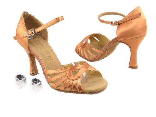 Ladies Women Ballroom Dance Shoes Very Fine EKSA3870 SERA 3 Heel with Heel Protectors