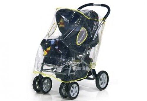 Universal Regenschutz XL PEVA Jogger, Sportwagen, Buggy Reer Winnie Pooh