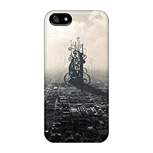 DaMMeke Case Cover For Iphone 5/5s - Retailer Packaging Cityscape Protective Case