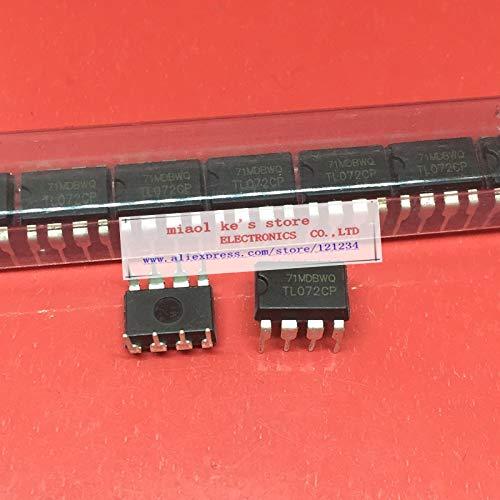 (Batcus [ 10pcs/1ot ] TL072 TL072CP DIP-8 Low Noise Dual OP-AMP IC New )