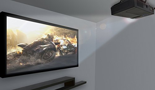 Premium Home Theater Projector By FAVI - Ultra Bright LED LCD - HD 720p Native Resolution - 4K Support - Built-In Speakers - Model No. RIOHDLED4T-US2 by FAVI (Image #4)