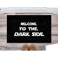 Tapete Capacho Decorativo, Coleção Frases, Welcome to the Dark Side (Star Wars)