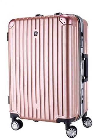 Tjtz Suitcase Color : Black ABS+PC Material,Suitcase Trolley Case Universal Wheel Lock Box
