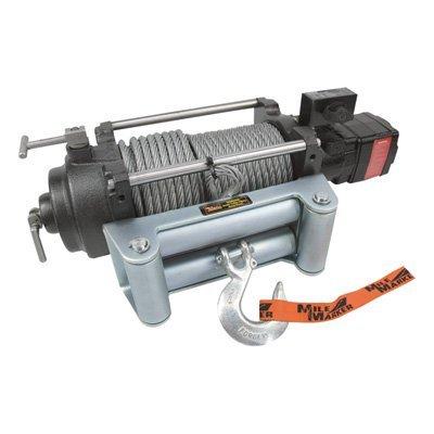 (Mile Marker HI-Series Hydraulic Winch - 12,000-lb. Capacity, 12 Volt DC, Model# HI12000)