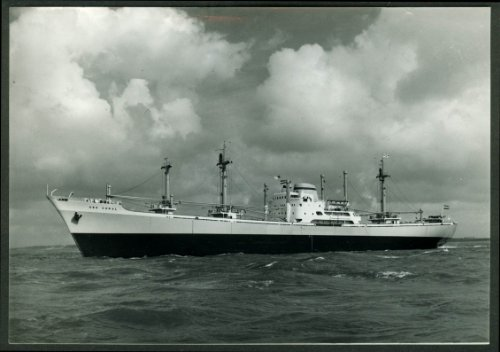 - Greek Cargo Ship Sea Coral manufacturer's photo 1960s
