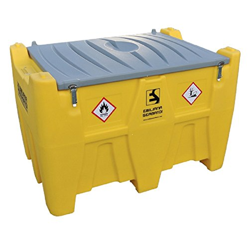 Portable Fuel Tank Diesel (Yellow or Blue) (116 gallons)