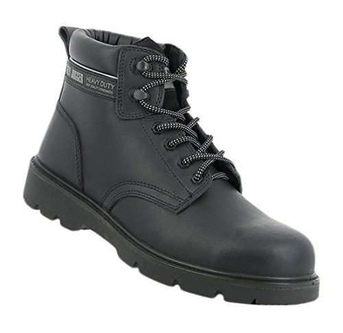 SAFETY JOGGER X1100N Men Safety Toe Lightweight EH PR Water Resistant Mid Cut Boot, M 11.5, Black by SAFETY JOGGER (Image #5)