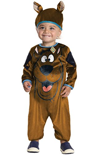[8eighteen Adorable Scooby-Doo Infant/Toddler Costume] (Scoobydoo Adult Plus Costumes)