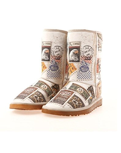 Goby Women Long Boots (Postage Stamps MD015) ebhTmqBG8S
