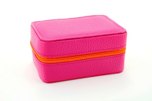 (Lori Leigh Design Womens Mini Chalet Travel Jewelry Box (Pink))