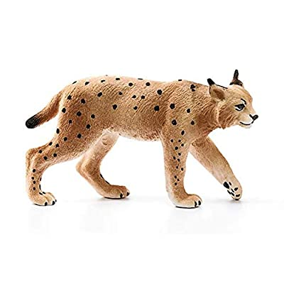 SCHLEICH Wild Life Lynx Educational Figurine for Kids Ages 3-8: Toys & Games