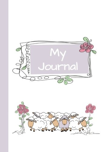 My Journal: Sheep (Purple) 6x9 - GRAPH JOURNAL - Journal with graph paper pages, square grid pattern (Baby Animals Graph Journal Series)