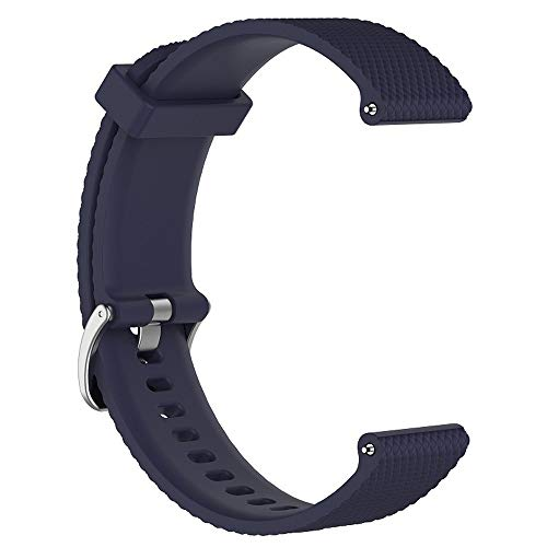 Jenboo Compatible Montblanc Band 22mm Silicone Strap Sports Replacement Wristband Women Men for Montblanc 1 and 2 Smart Watch Sports and Waterproof watchband. ()