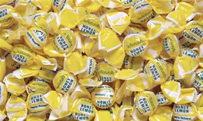 Go Naturally Organic Hard Candy, Honey Lemon, Bulk/pound, Individually Wrapped
