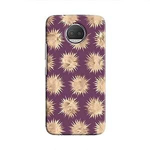 Cover It Up - Sand Star Purple Moto G5s Plus Hard Case