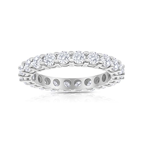 2.00ctw Diamond Eternity Band In 14k White Gold